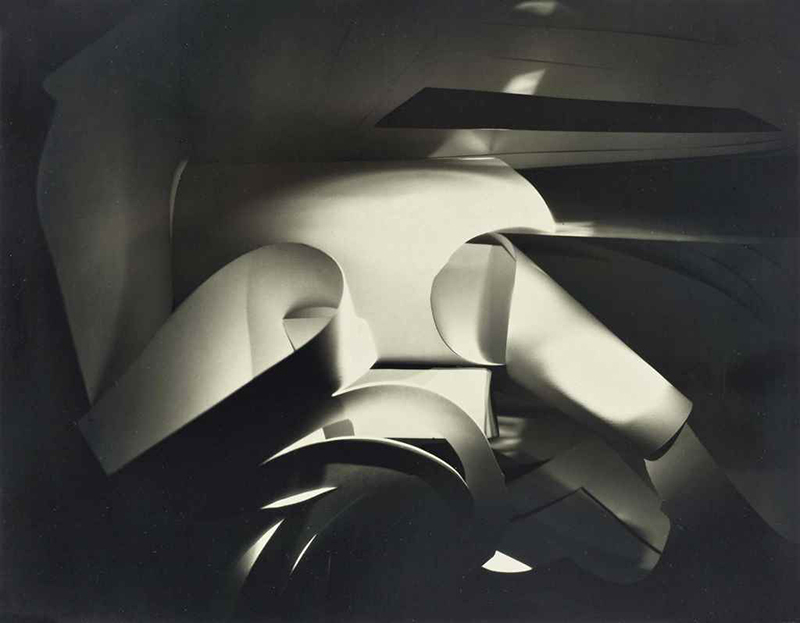 Francis Joseph Bruguière, Cut Paper Abstraction, 1925