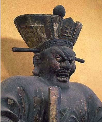 Enma, der Richter der Unterwelt / H?shaku-ji, Kyoto
