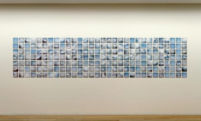 Wolkenphotographien, 2009, Ausstellung im Haus am Lützowplatz, Berlin, 2012