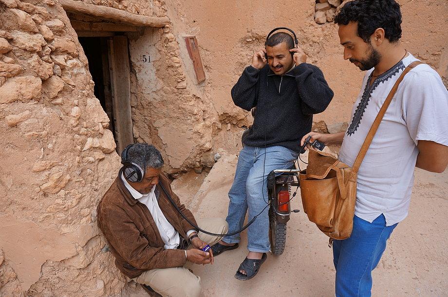Klanglandschaften kultureller Erhaltung - Eine künstlerische Erkundung der Paul Bowles-Sammlung traditioneller marokkanischer Musik. Bild: Gilles Aubry