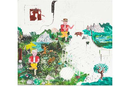 Patrick Graf. Vorher: (O.T.), 2013, Öl auf Holz, 46 x 51 cm